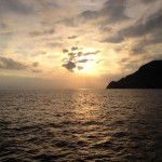 On the way back to Monterosso