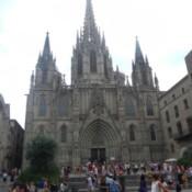 Barcelona – La Rambla & Cathedral of Saint Eulalia